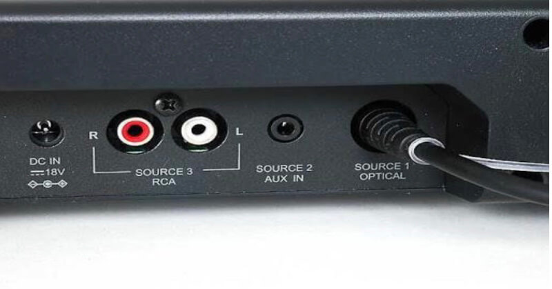 RCA connectors is another effective way to connect a soundbar to a TV/ Ph: googleusercontent.com