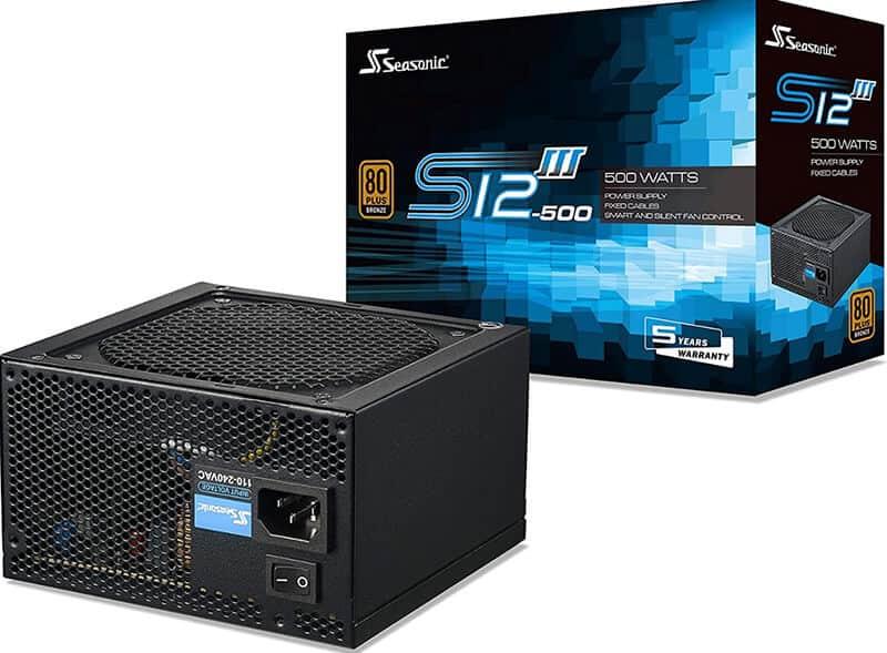 SeaSonic S12III 500W 80+