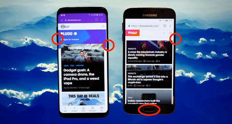 How To Screenshot On Samsung Tablet - All Of Method
