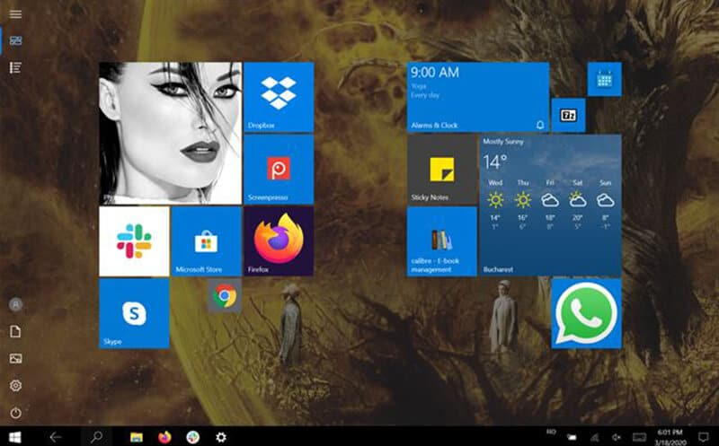 How to Alter the Tablet Mode in Windows 10