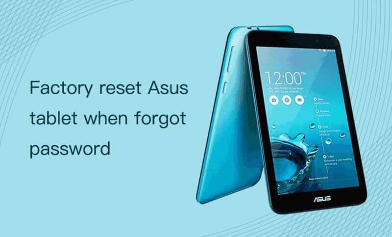 How To Factory Reset Asus Tablet using Windows Password Reset