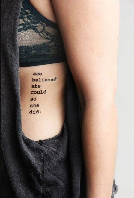 Amazing Quotes Tattoos Ideas And Designs