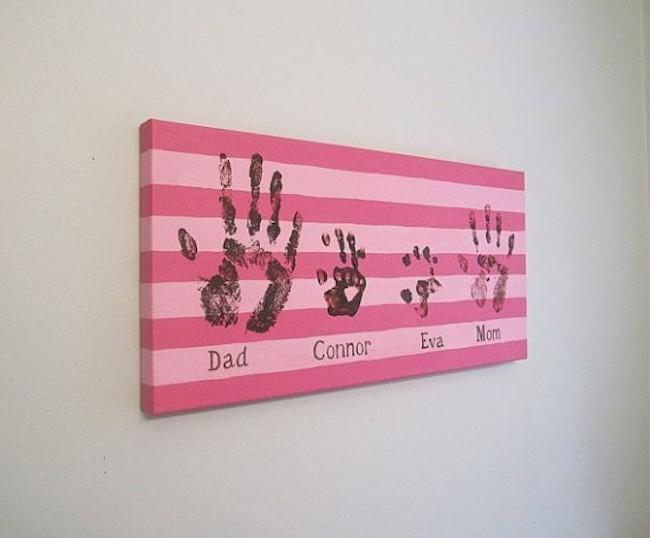 DIY Canvas Art Ideas - Children