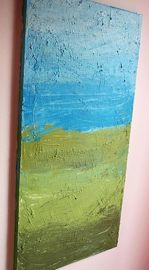 DIY Canvas Art Ideas - Textured