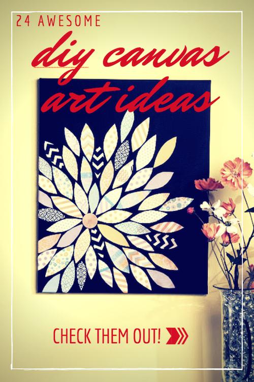 DIY Canvas Art Ideas - Title