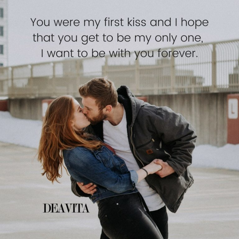 first kiss and love quotes crush sayings with photos