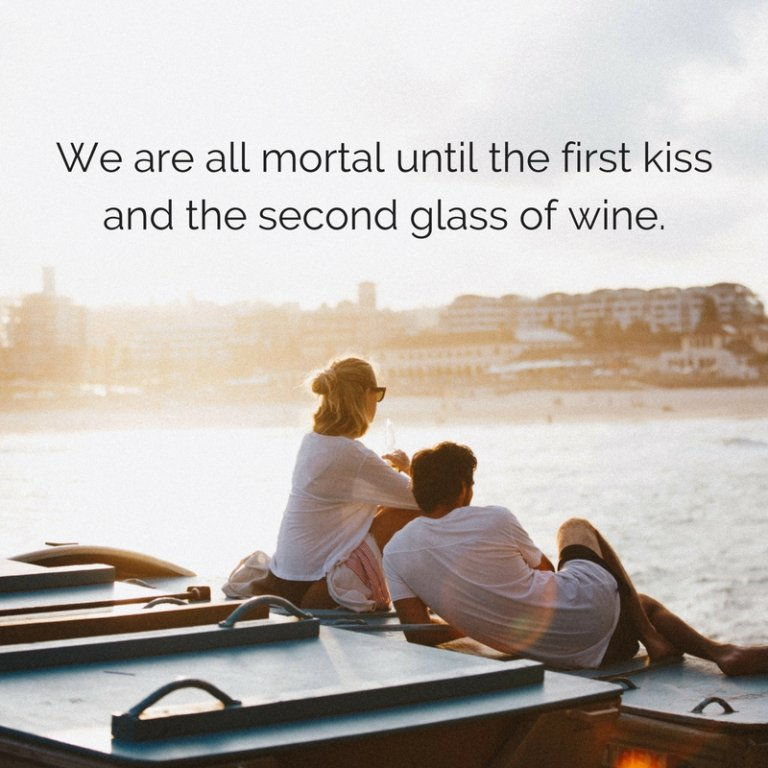 first kiss romantic cards and quotes inspirational sayings