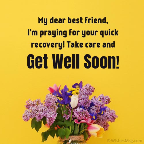get well wishes for best friend