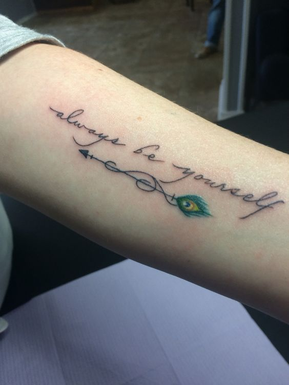 Girly Quotes Tattoos (5)