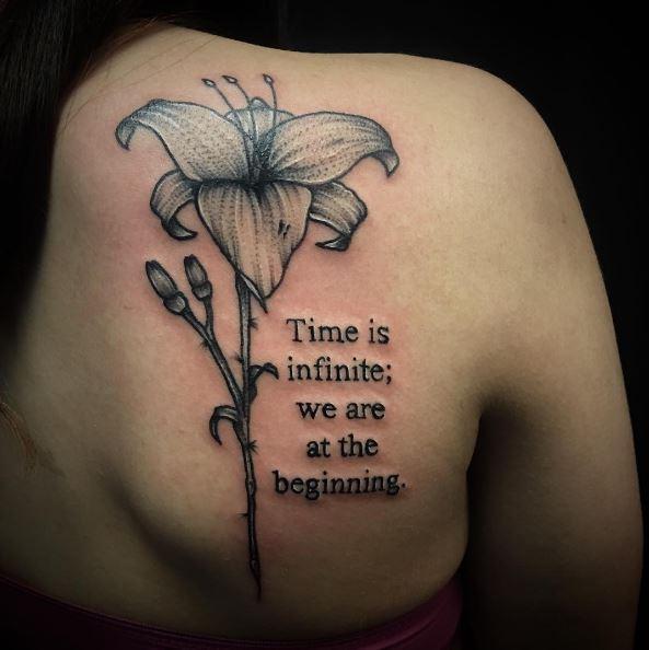 Glamorous Pics Of Quote Tattoos Design