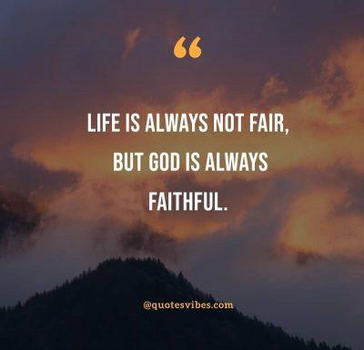 Spiritual God Is Faithful Quotes