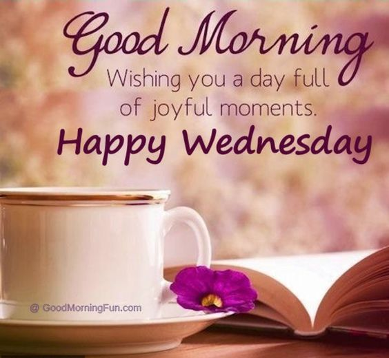 Good Morning Wednesday Quote
