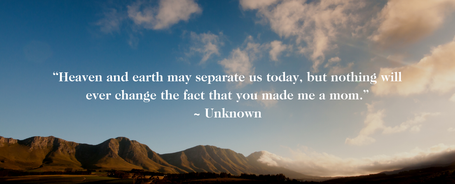heaven and earth miscarriage quote