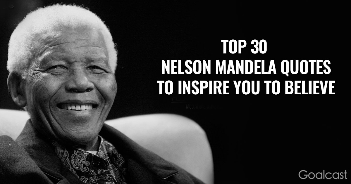 Inspiring Nelson Mandela quotes - A winner is a dreamer who never gives up