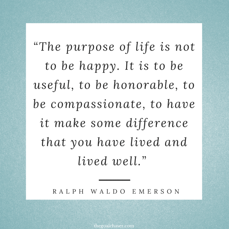 Intentional Living quotes Emmerson
