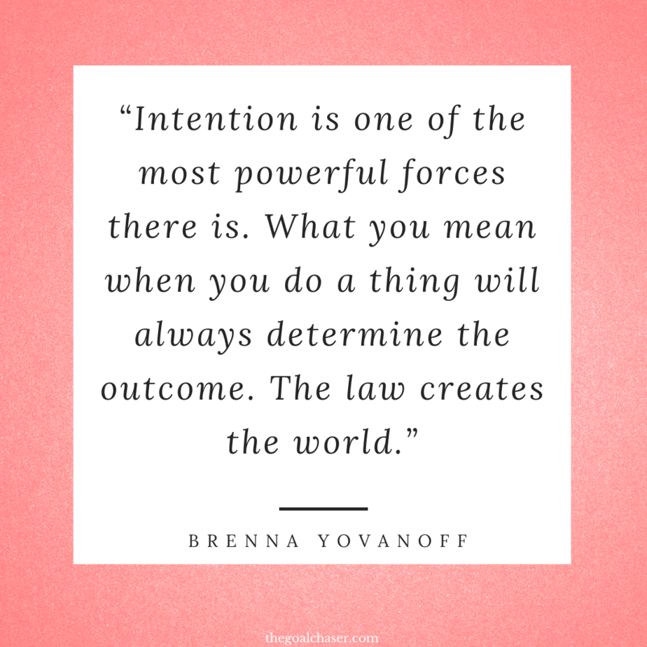 Intentional Living quotes to live by
