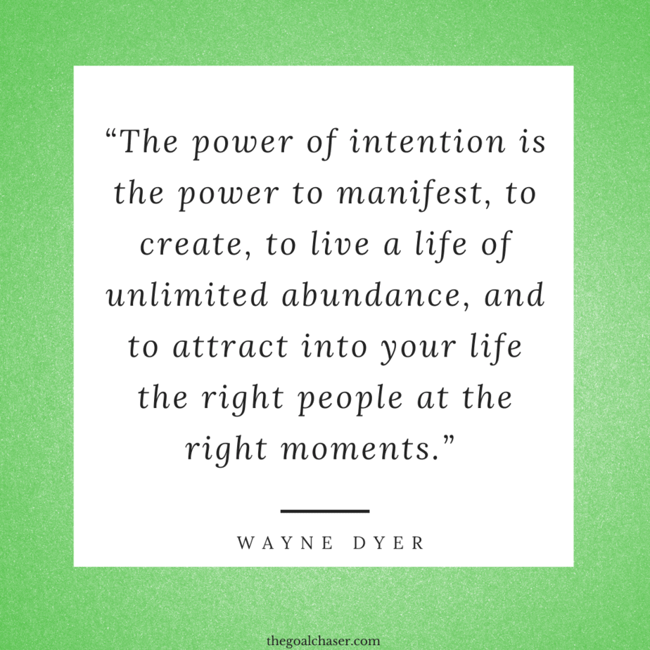 Intentional Living quotes Wayne Dyer