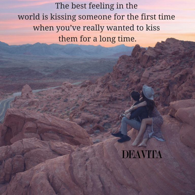 kiss and best feeling romantic love quotes crush quotes