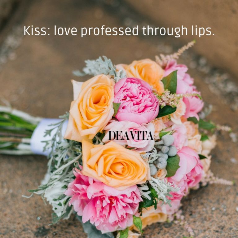 Kiss and love sayings romantic quotes and cards with photos