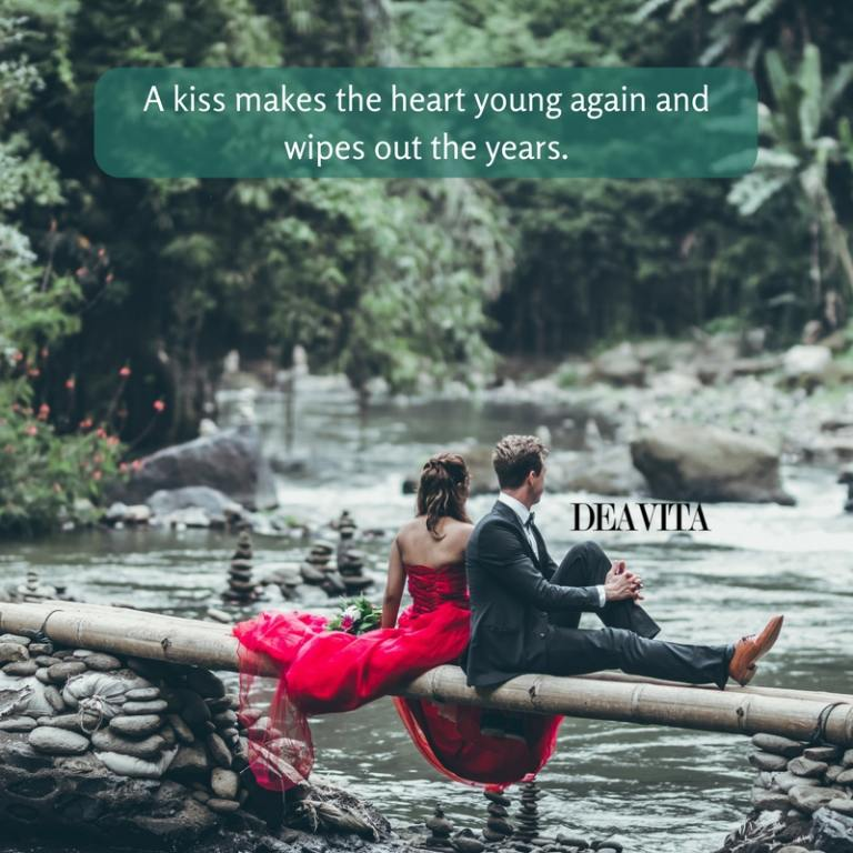 kiss heart love and tears quotes with images