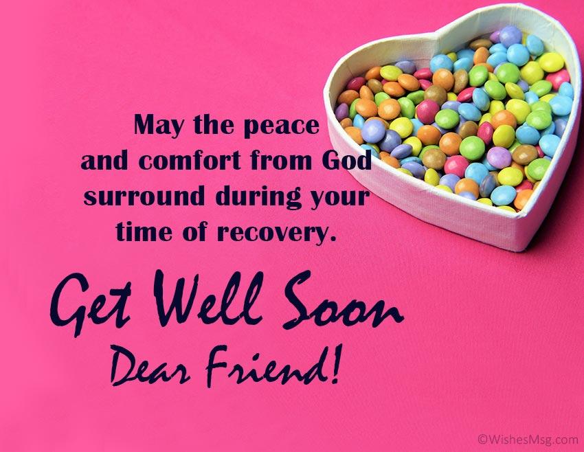 Get Well Prayer for a Sick Friend