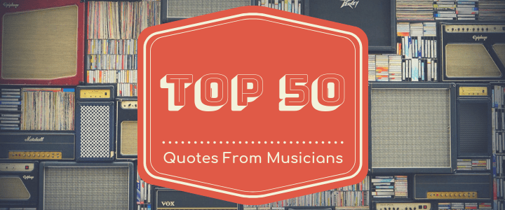 Quotes from musicians