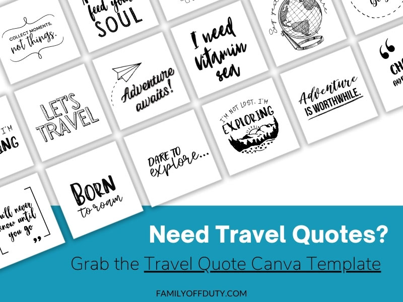 travel quotes for socal media