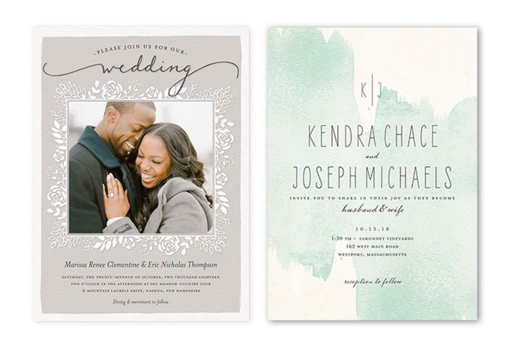 casual wedding invitation wording example