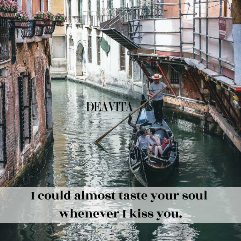 when i kiss you quotes with romantic photos