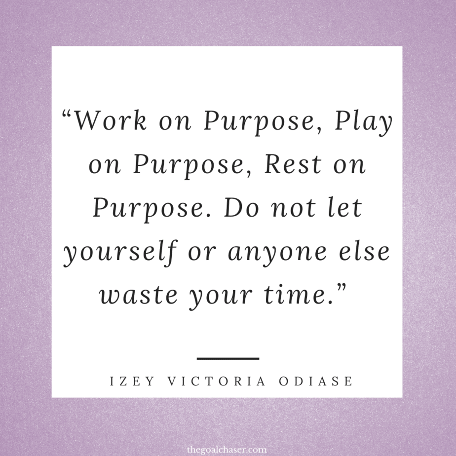 Work on purpose quote